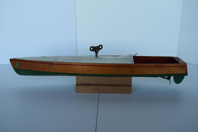 German Kellner speedboat