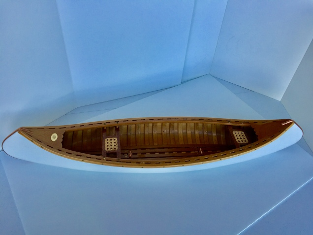 Canoe scratch-built