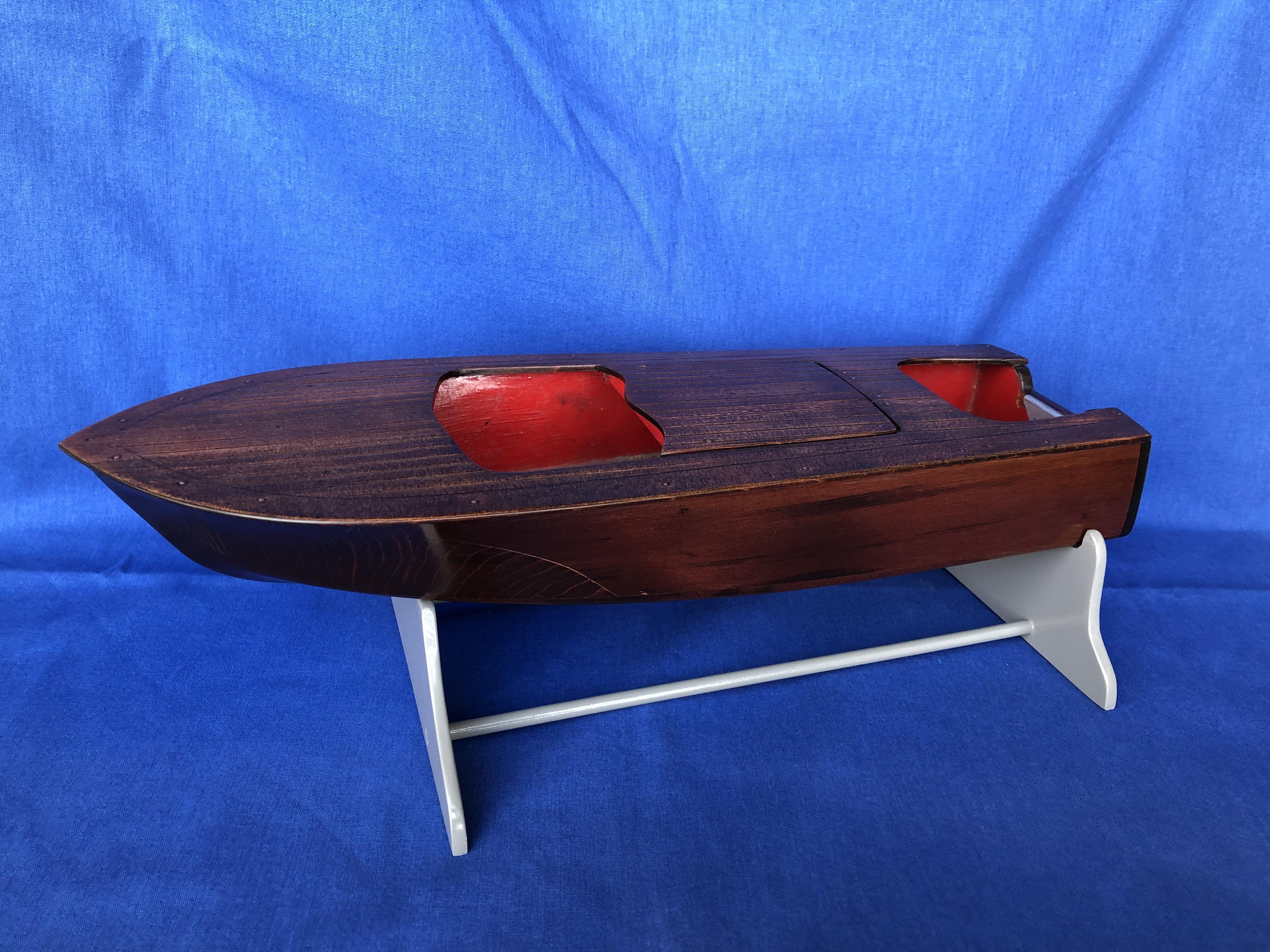 mahogany ob boat